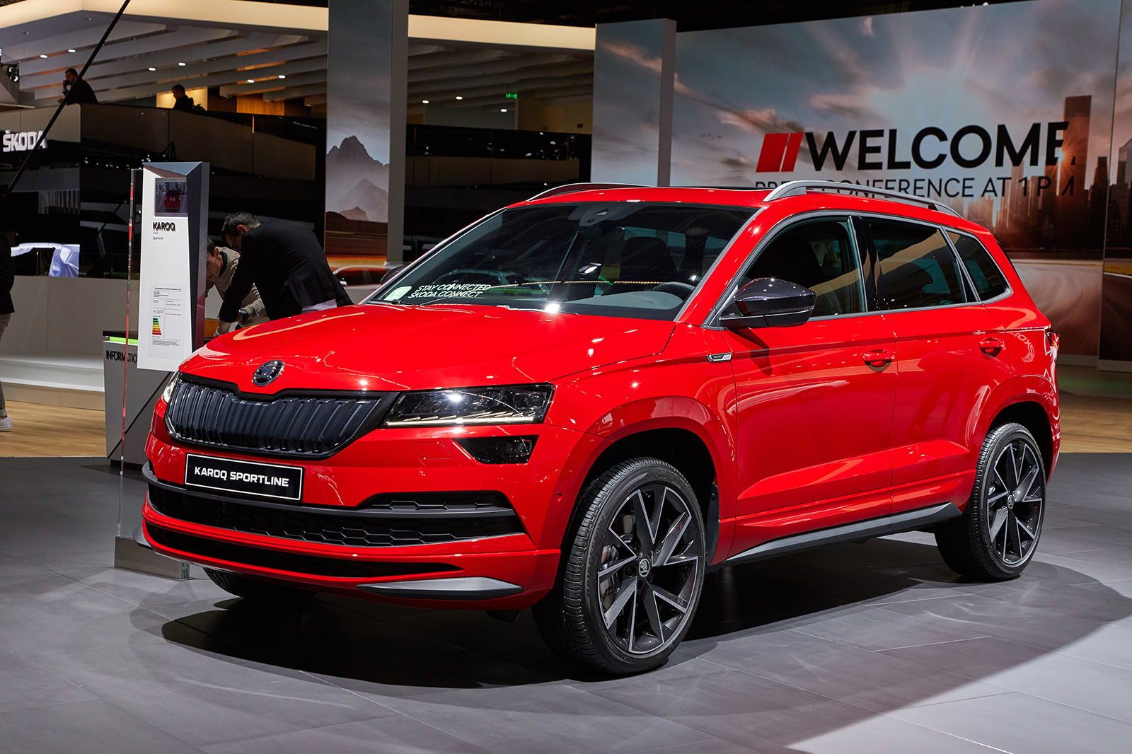 Skoda Karoq Sportline Revealed As Suv S Sporty Flagship Autocar