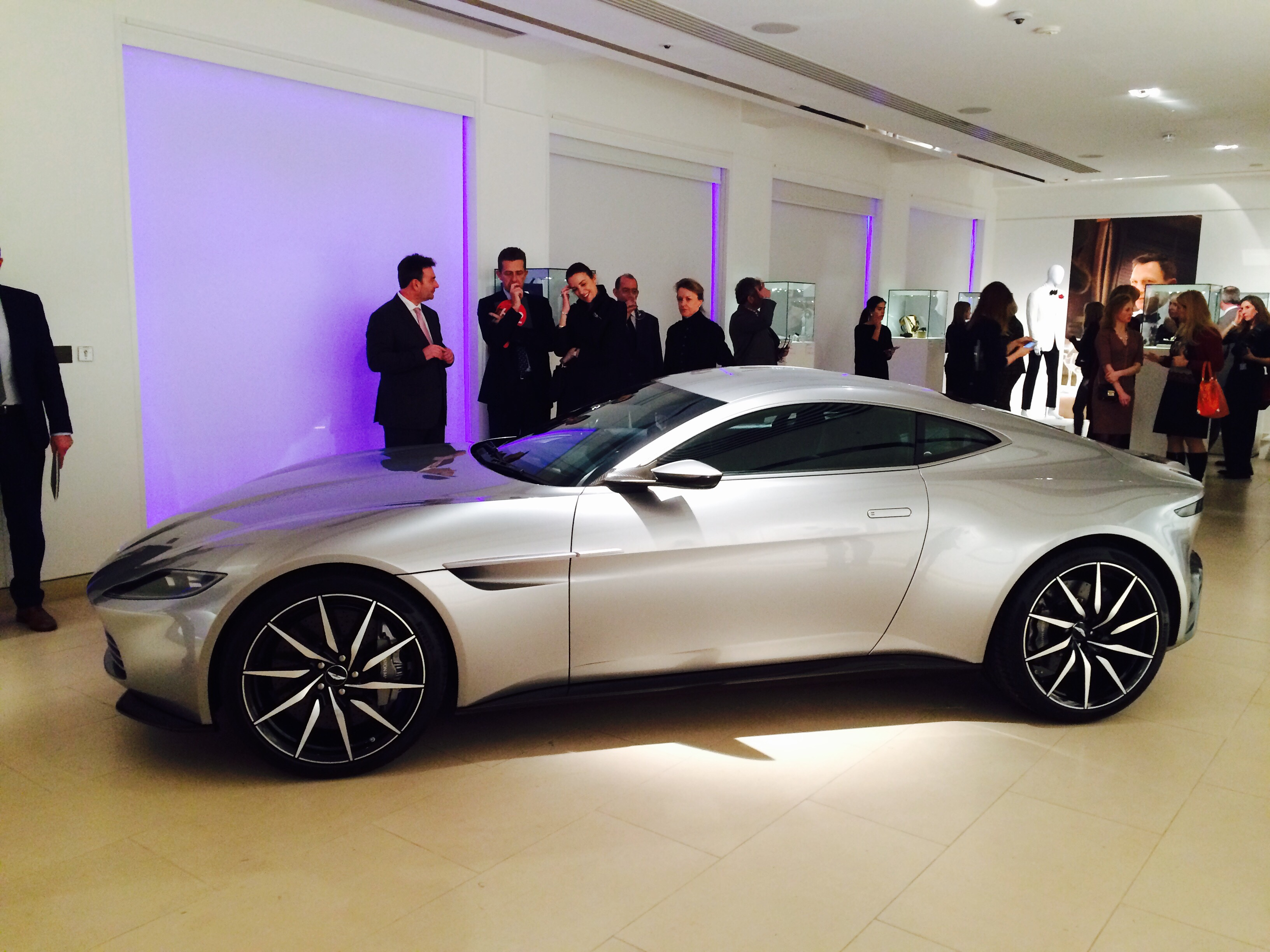 James Bond S Aston Martin Db10 Sold For 2 434 500 Autocar