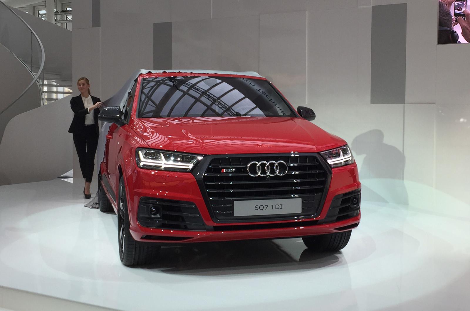 Audi audi sq7 tdi : New Audi SQ7 revealed | Autocar