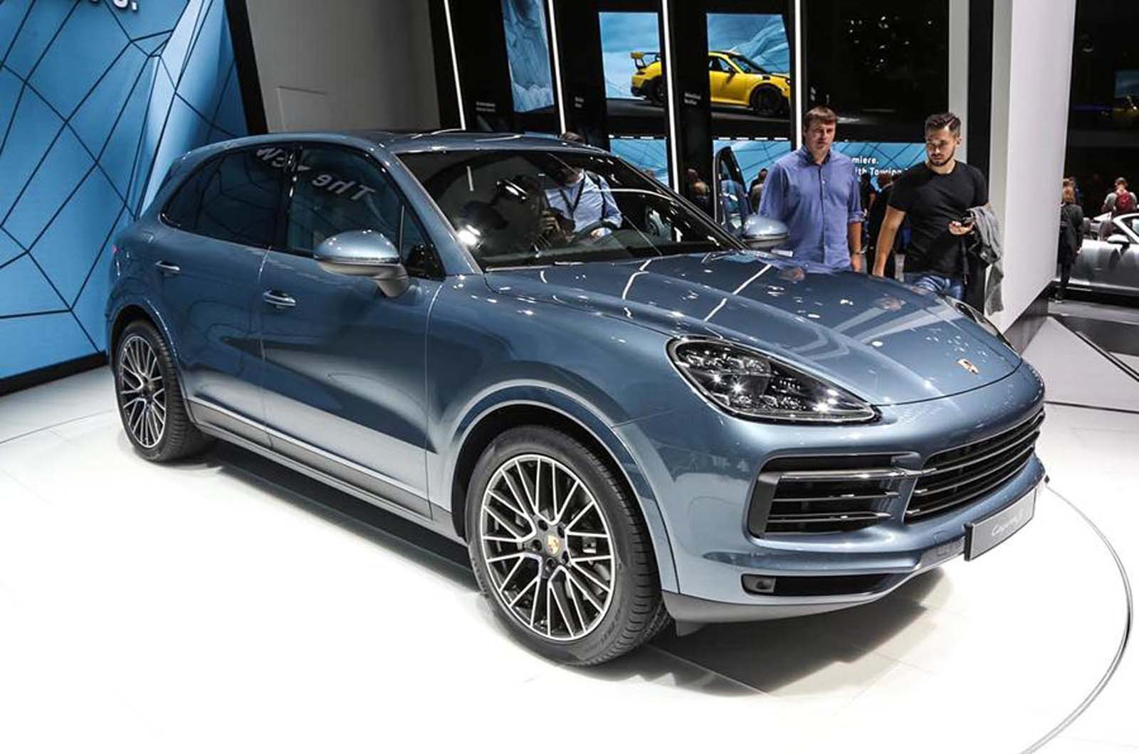 Porsche Cayenne Coupe Under Consideration As Bmw X6 Rival