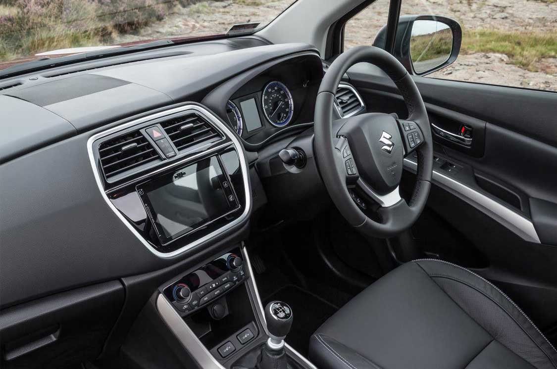 מאוד 2017 Suzuki S-Cross facelift revealed   Autocar HI-38