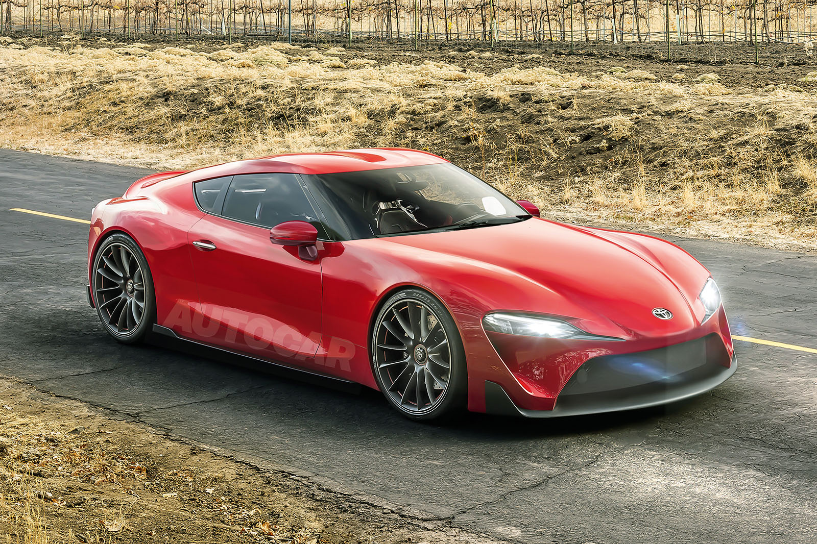New Toyota Supra And Bmw Z5 Gear Up For 2018 Assault Autocar