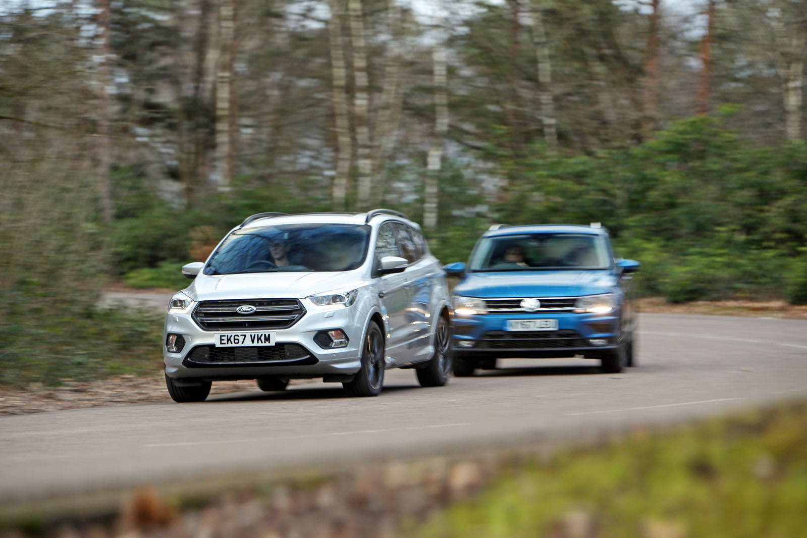 Small Suv Mega Test Volvo Xc40 Vs Tiguan Ds 7 X1 Q3 Kuga And Cx 5 Autocar