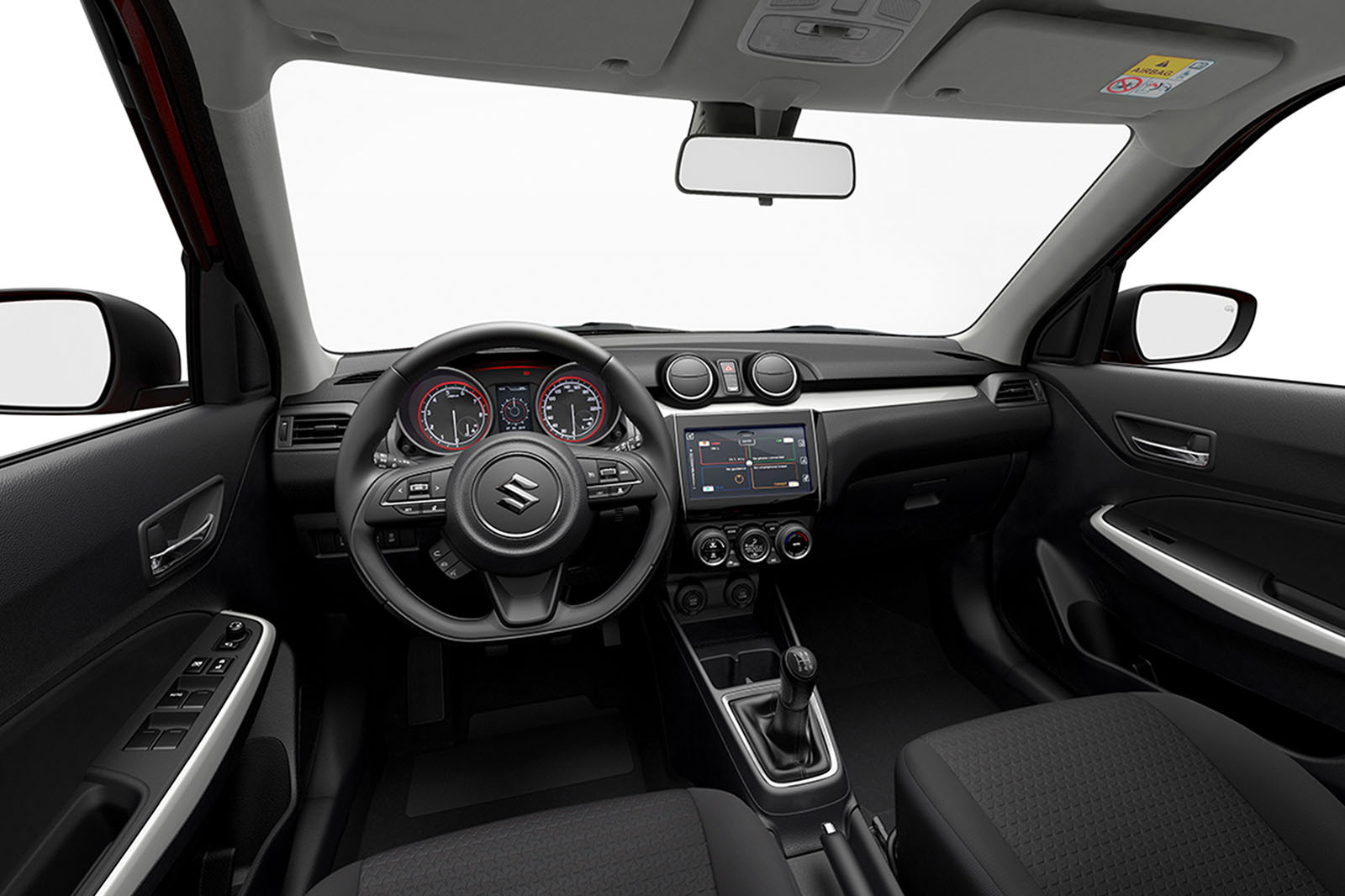 2017 Suzuki Swift On Sale In June Priced From 10999 Autocar 2000 Transmission Sd Sensor The Sz5 Also Gets A 42in Lcd Display Place Of Instrument Dials It Comes With New Driver Assist Technology Including Forward Detection System