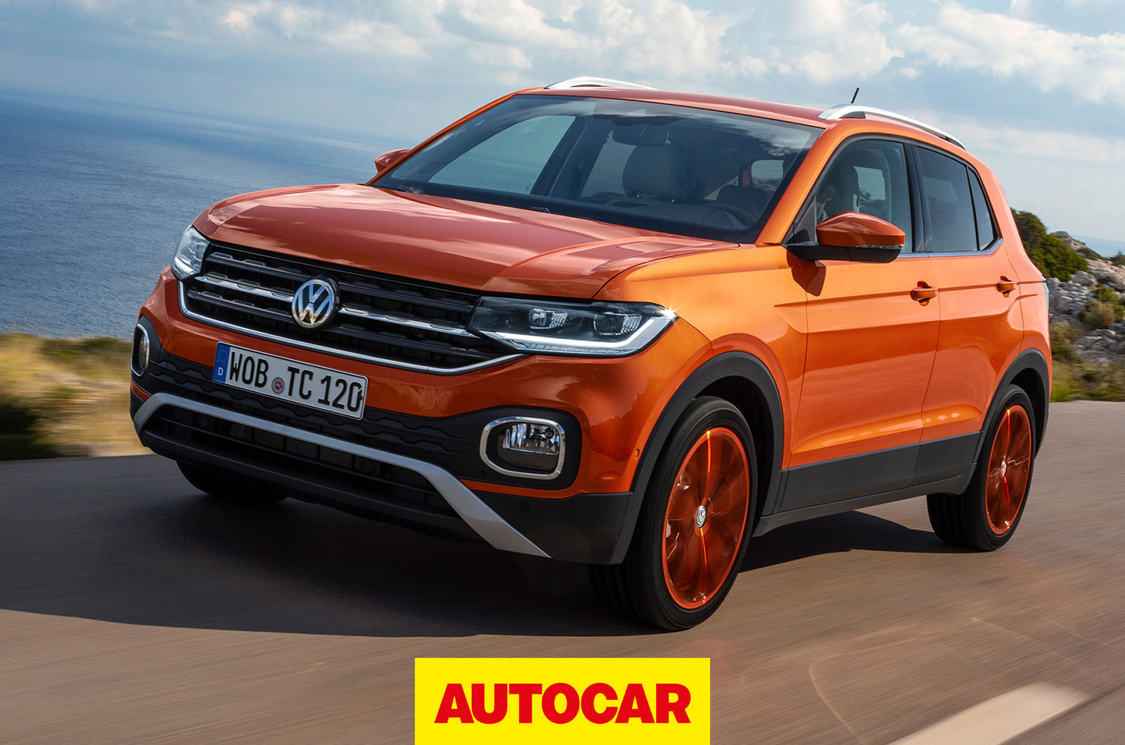 2019 Volkswagen T-Cross Review - The best small SUV on the ...
