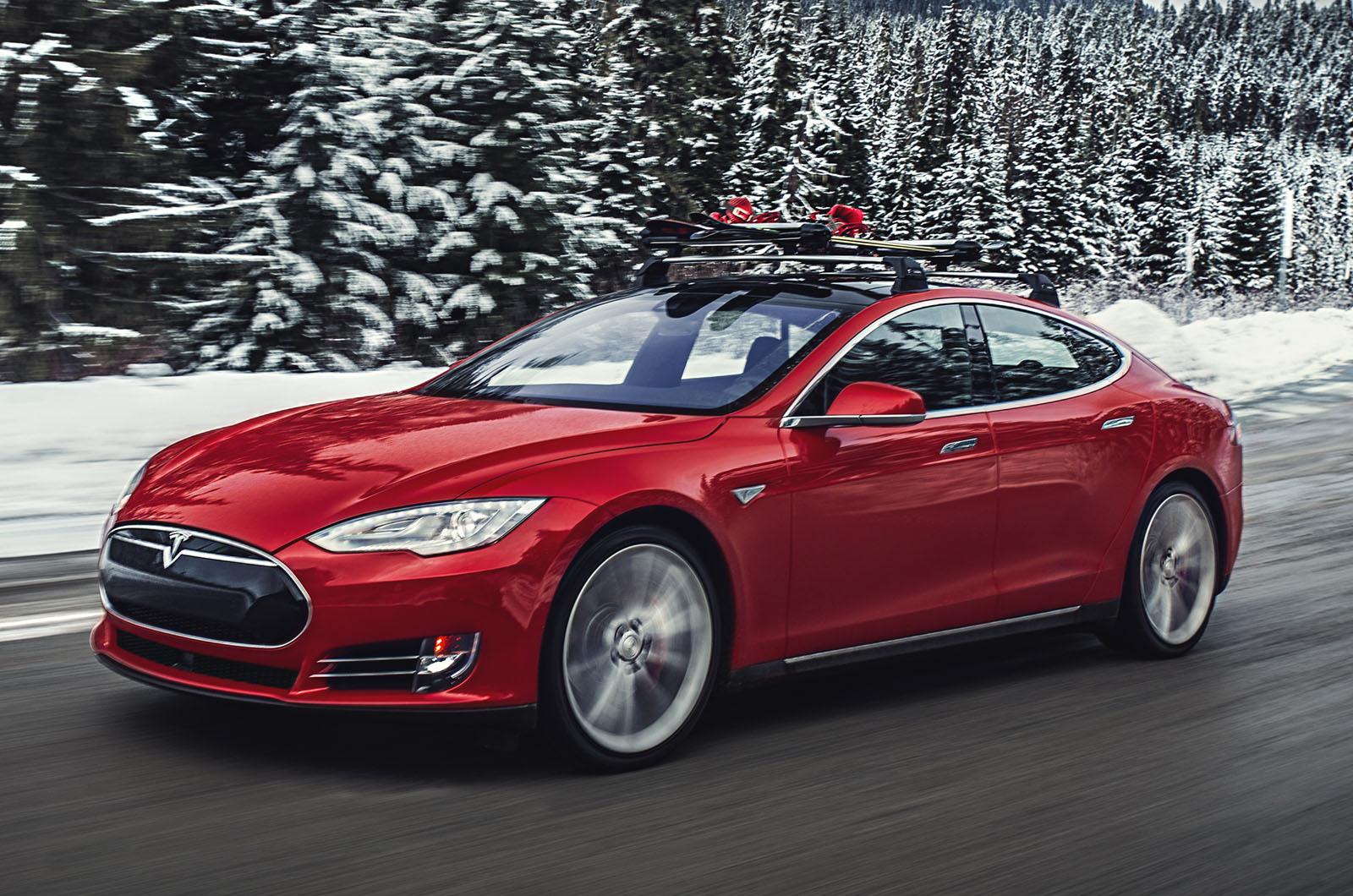 2015 Tesla Model S P85d Review Review Autocar