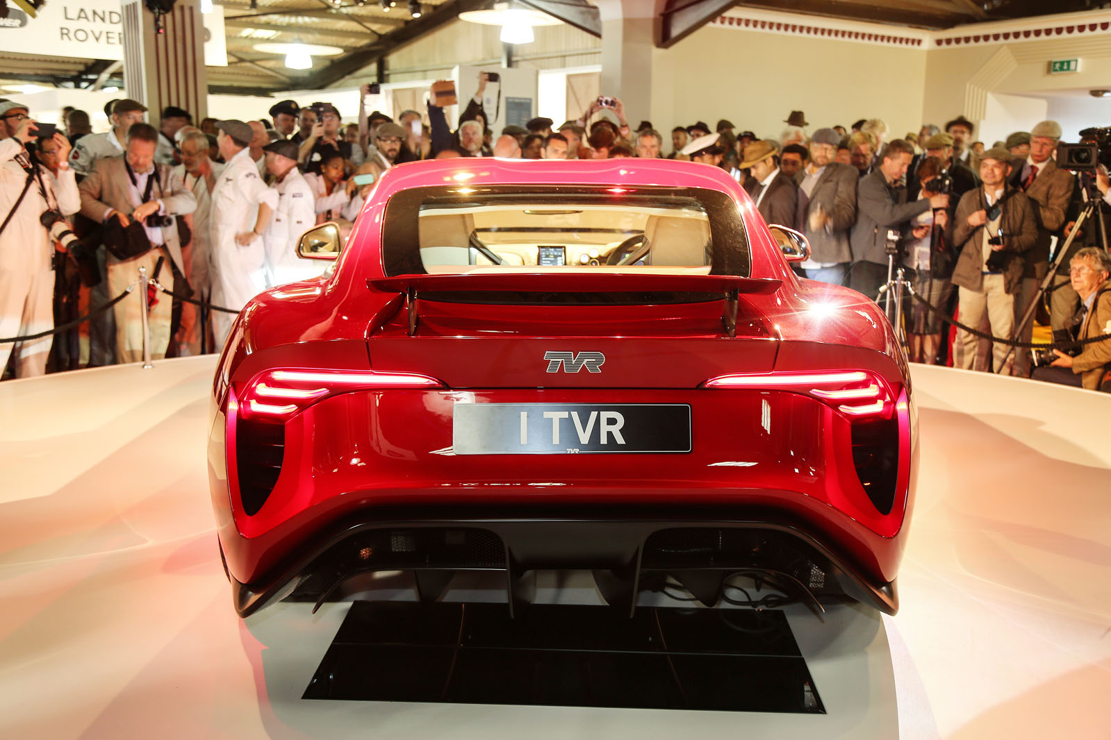 500bhp tvr griffith revealed at goodwood revival autocar. Black Bedroom Furniture Sets. Home Design Ideas