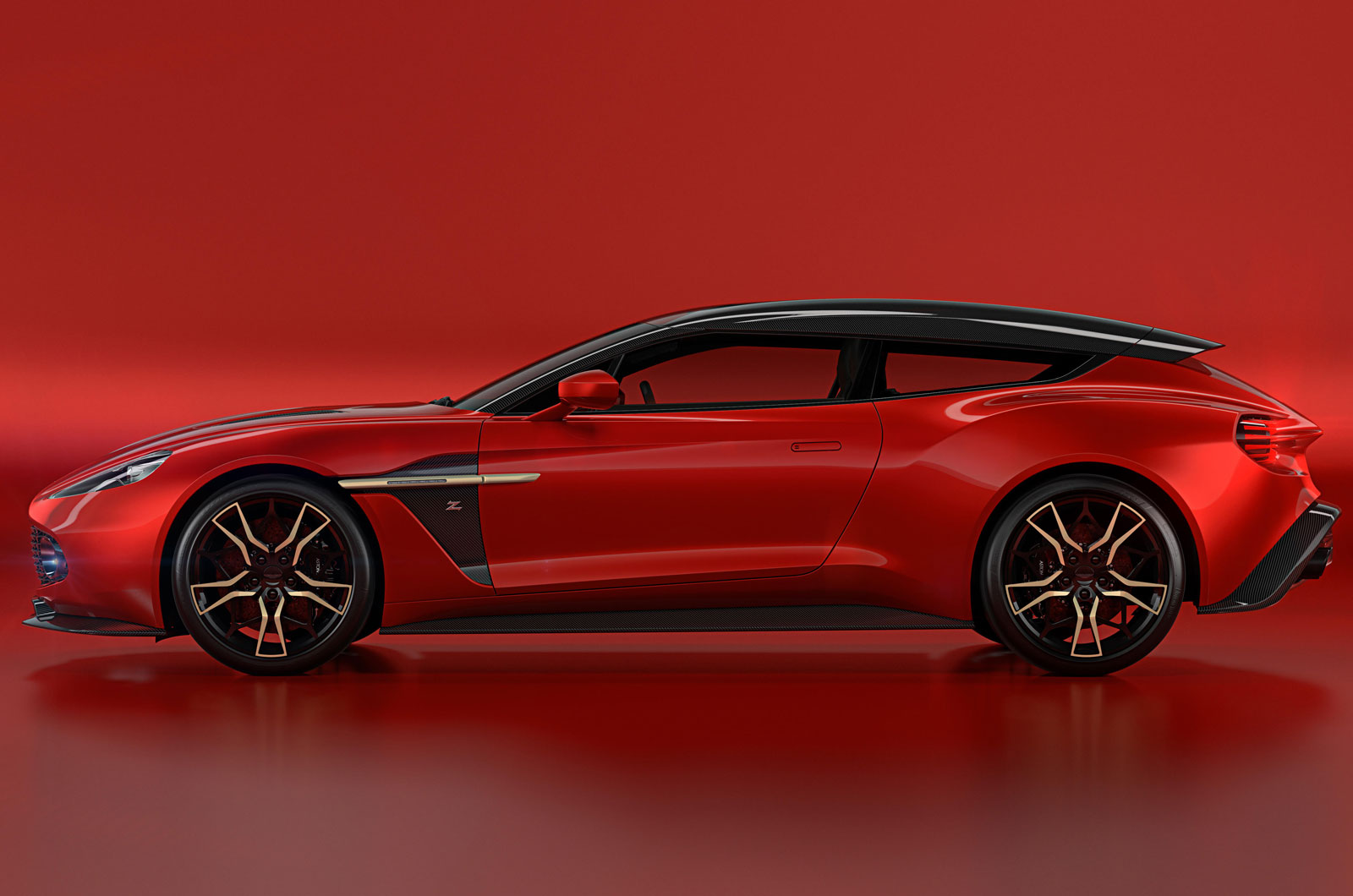 Aston Martin Vanquish Zagato Shooting Brake Styling Shown In Life Size Model Autocar
