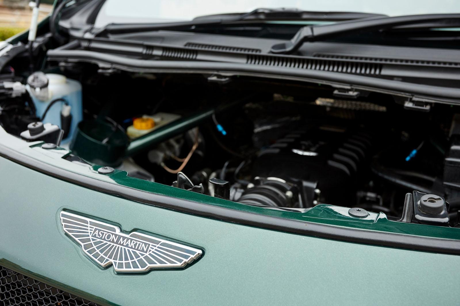 First Drive Aston Martin V8 Cygnet Autocar