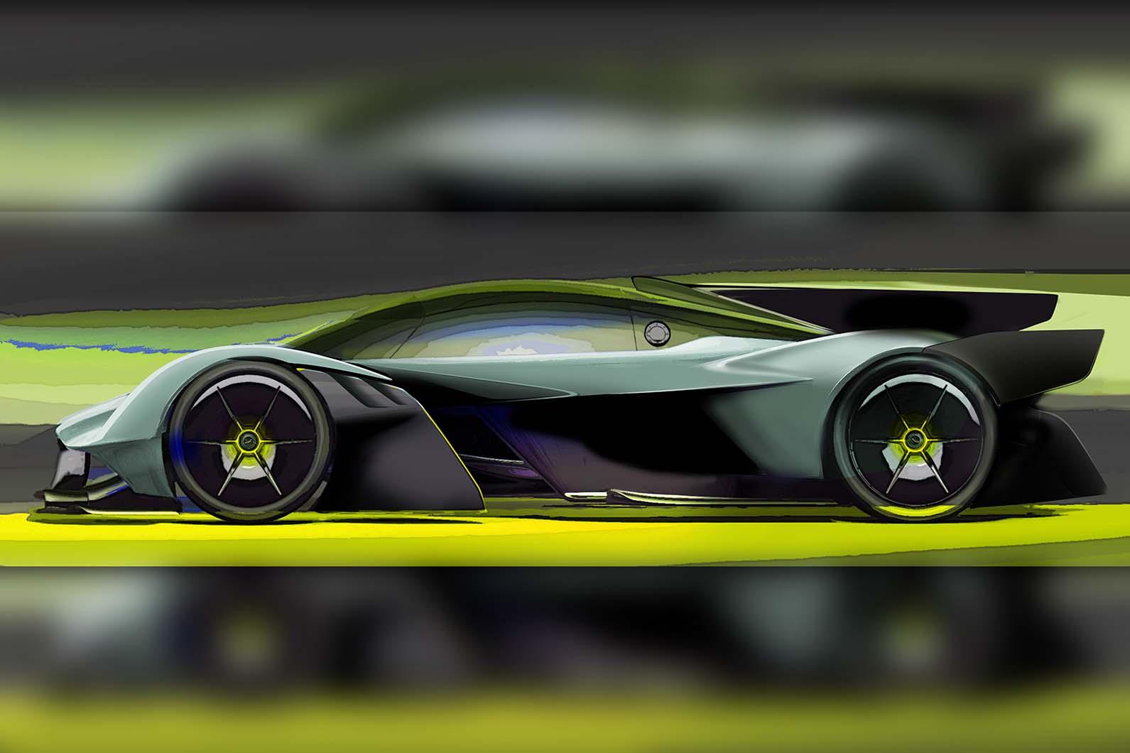 Aston Martin Valkyrie Amr Pro Track Car Revealed Autocar