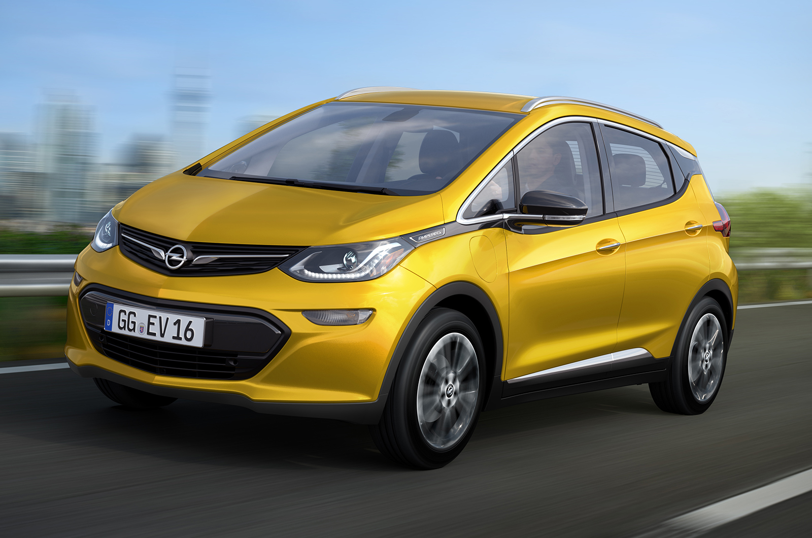 Opel will launch the 2017 electric model Ampera-e 28