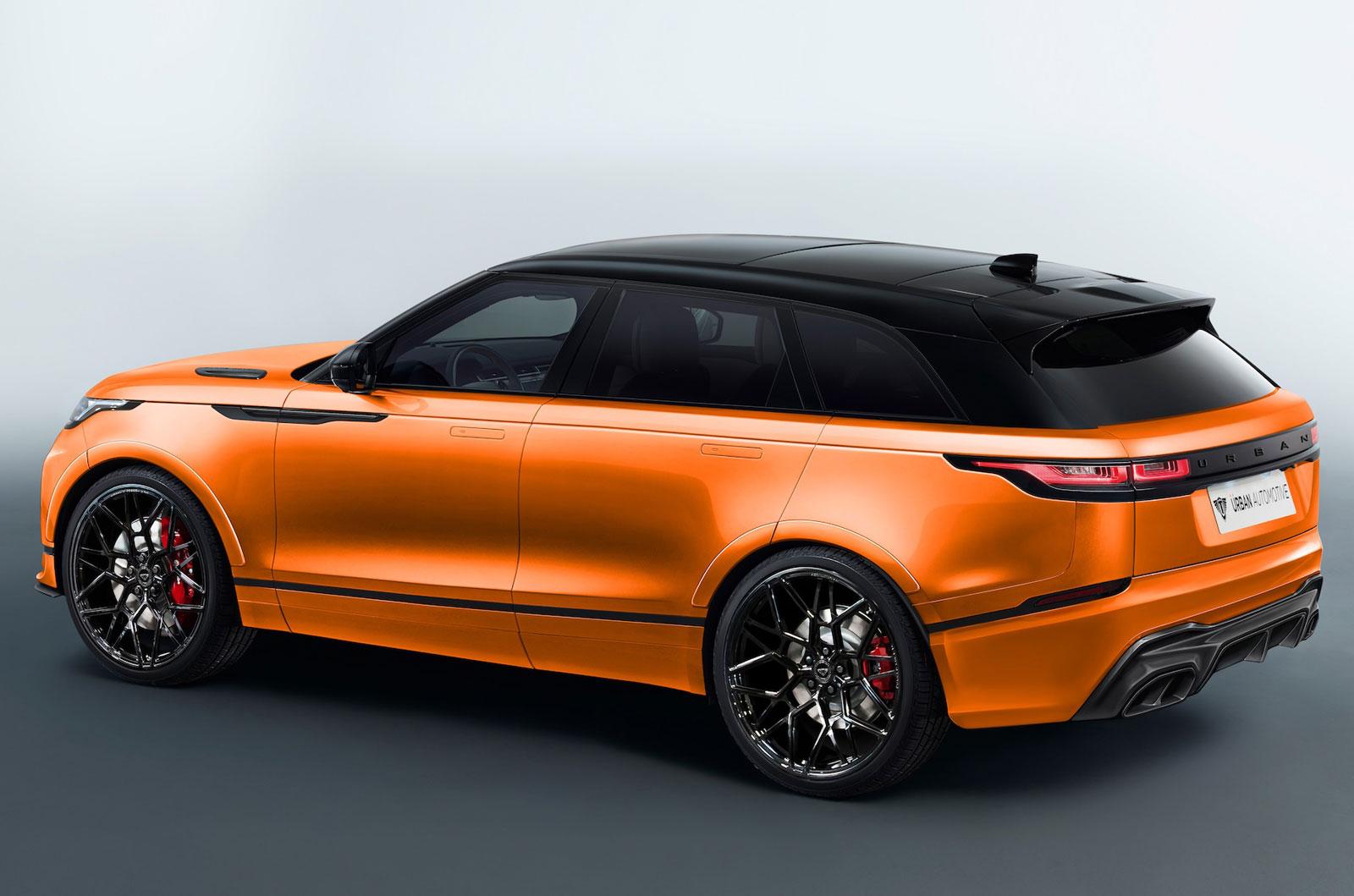first range rover velar aftermarket kit on sale now autocar. Black Bedroom Furniture Sets. Home Design Ideas