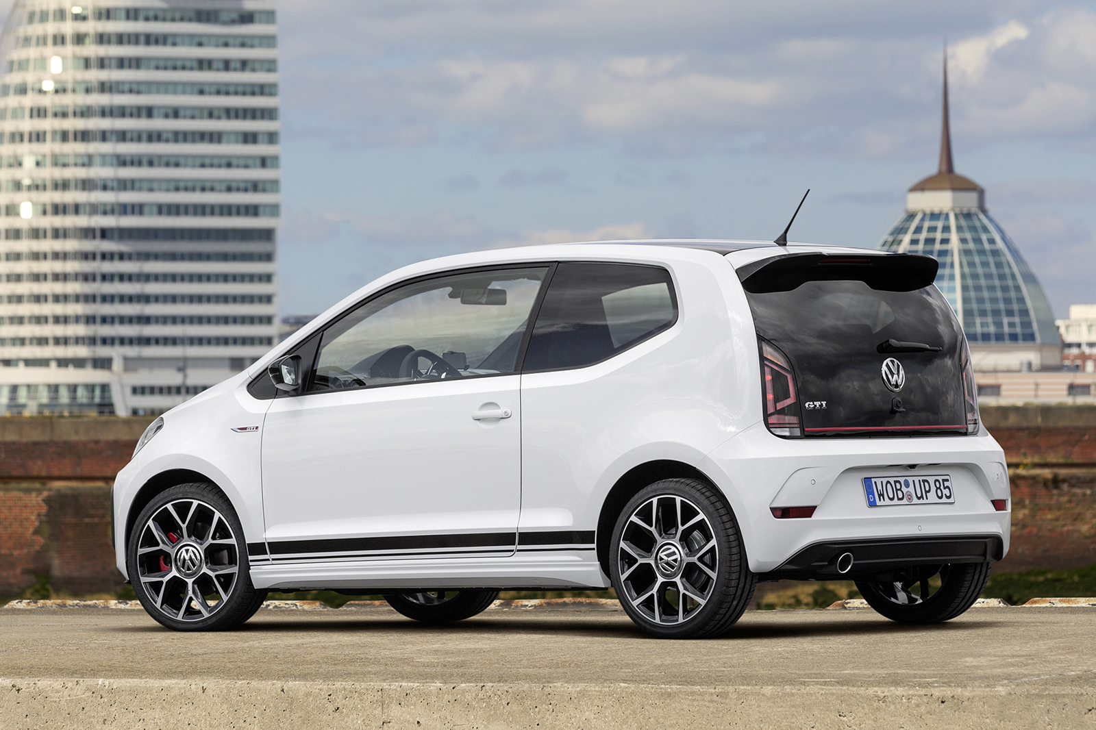 2018 volkswagen up gti officially revealed autocar. Black Bedroom Furniture Sets. Home Design Ideas
