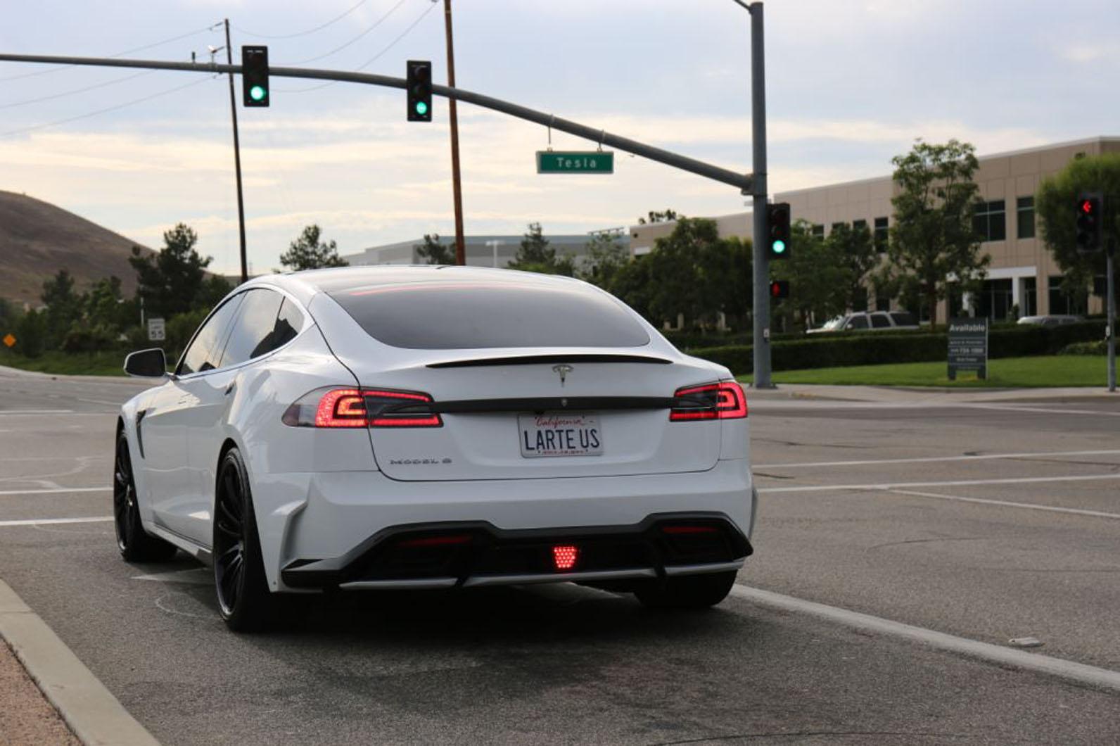 Tesla Model S gets Voltes Gen-SS aftermarket treatment | Autocar