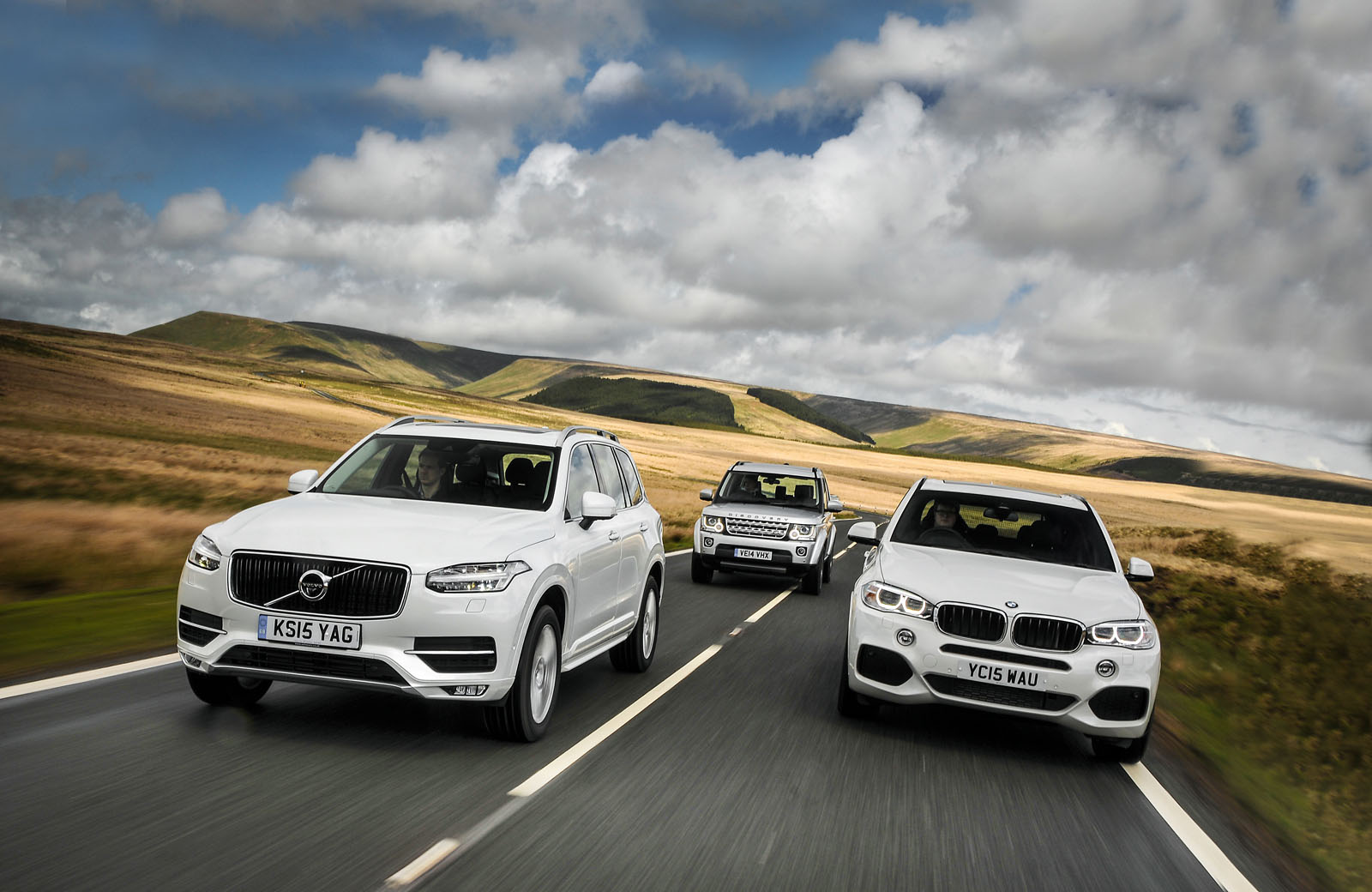 Coupe Series bmw x5 vs range rover sport Volvo XC90 versus BMW X5 and Land Rover Discovery - comparison ...