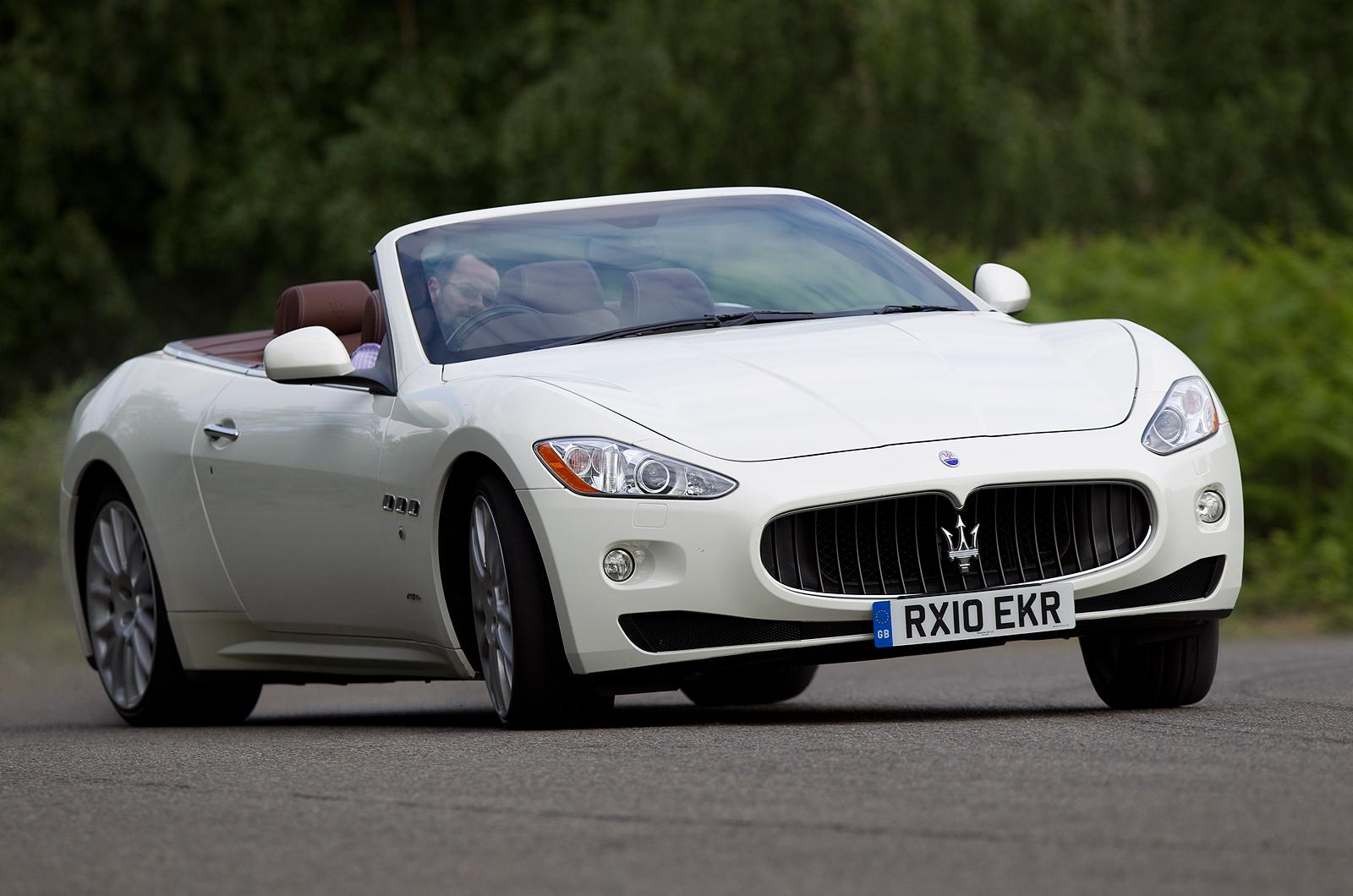 Maserati GranCabrio Review