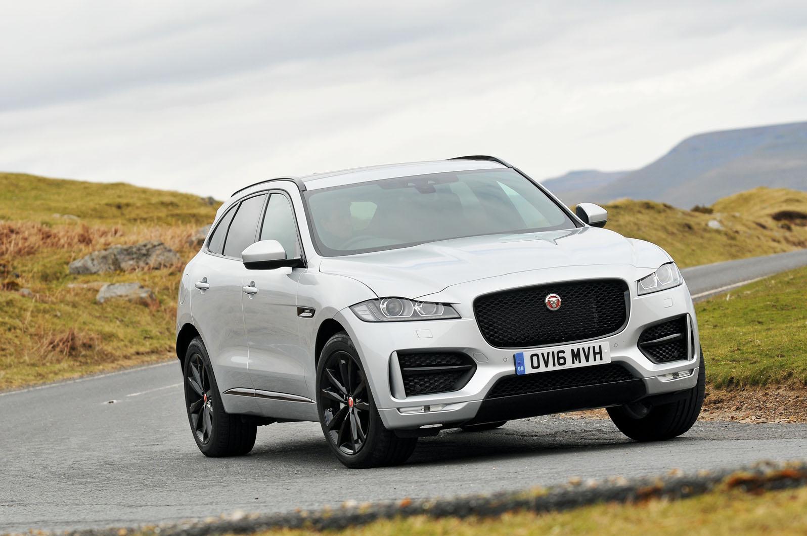 Jaguar F Pace Review 2019 Autocar 2017 Suv Interior