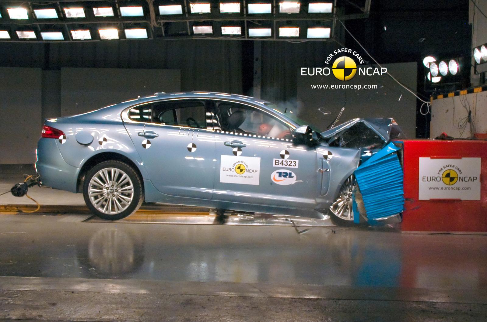 Jaguar Defends Xf Safety Autocar