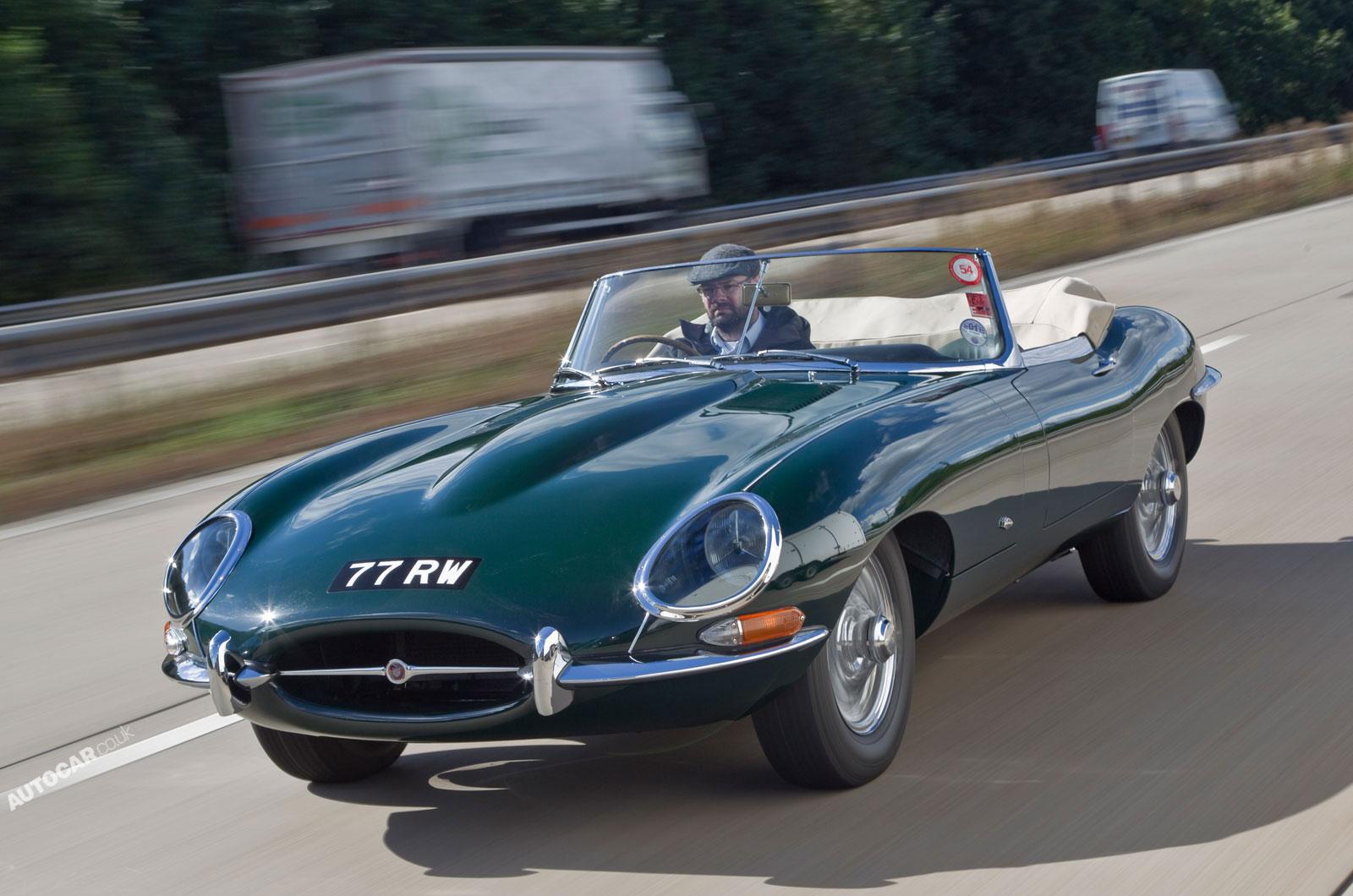 Jaguar E-type: From Me...