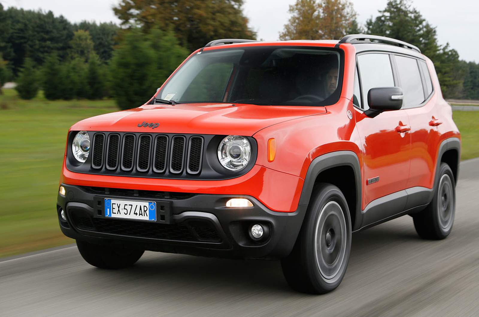 Jeep Renegade 20 Multijet Ii 170 Trailhawk Auto First Drive Old For Sale
