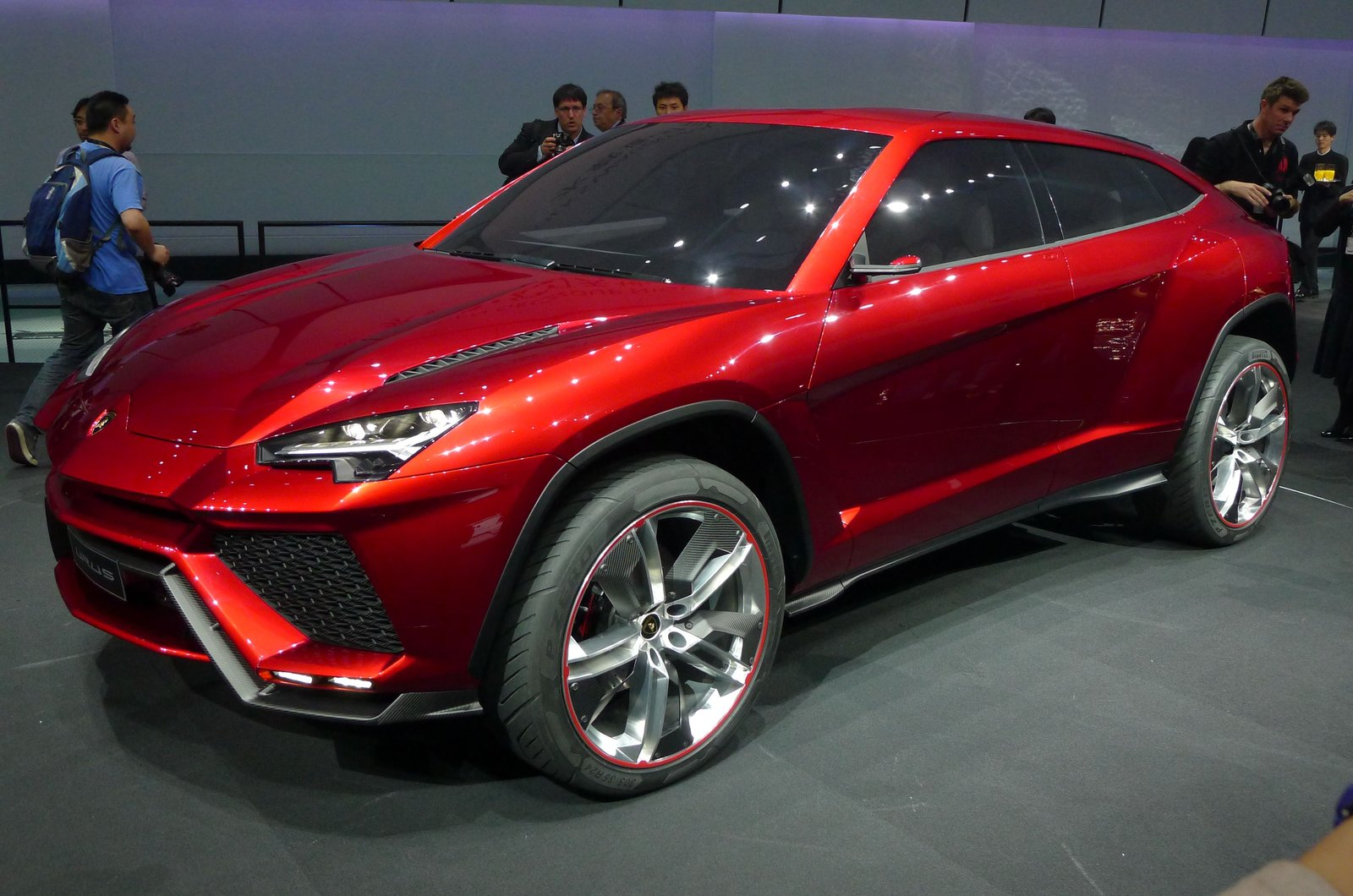 beijing motor show 2012 lamborghini urus suv autocar. Black Bedroom Furniture Sets. Home Design Ideas