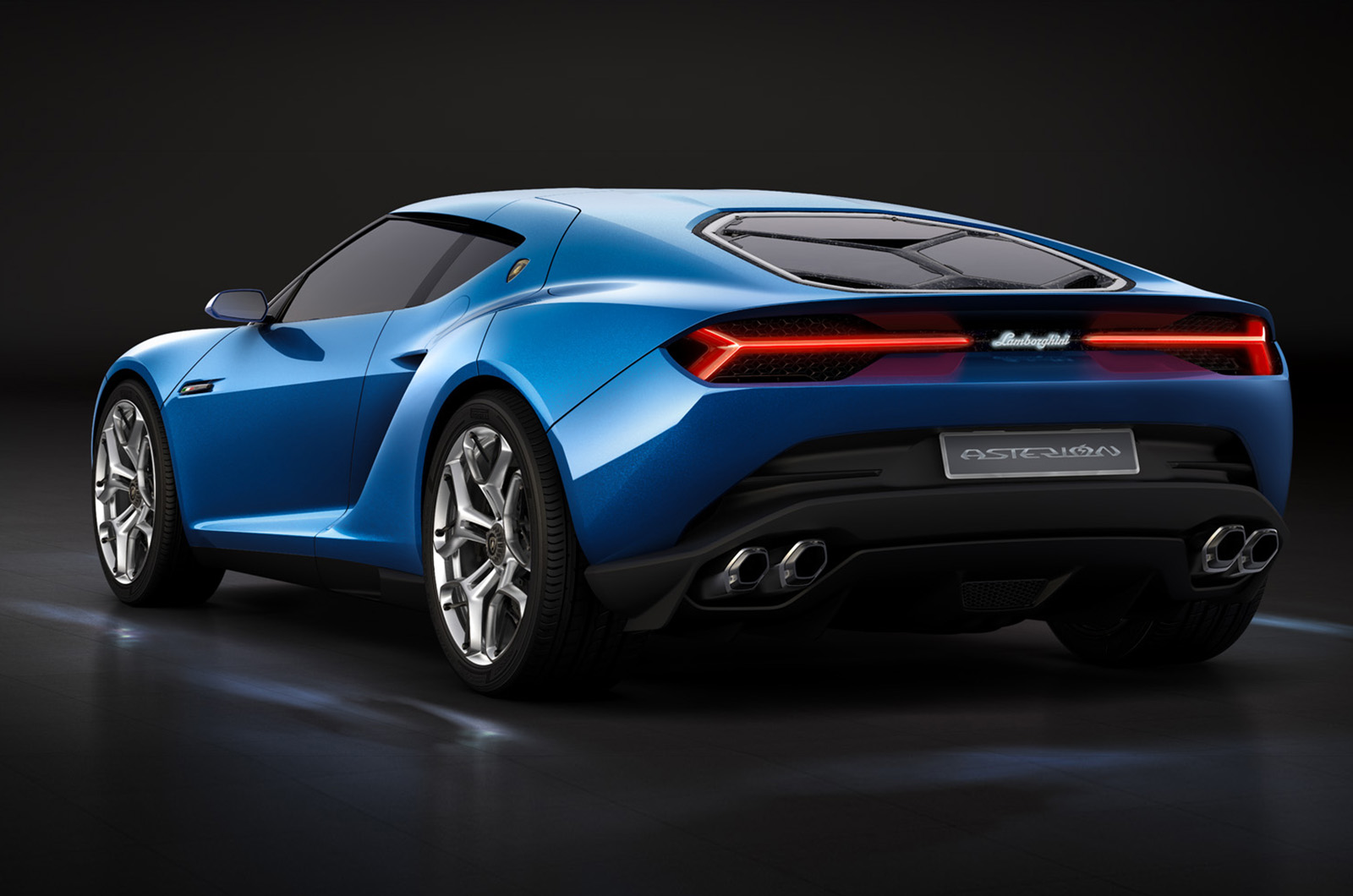 New Ford Mustang 2019 Convertible Coupe Ford Uk >> Lamborghini showcases new Asterion hybrid coupe concept | Autocar