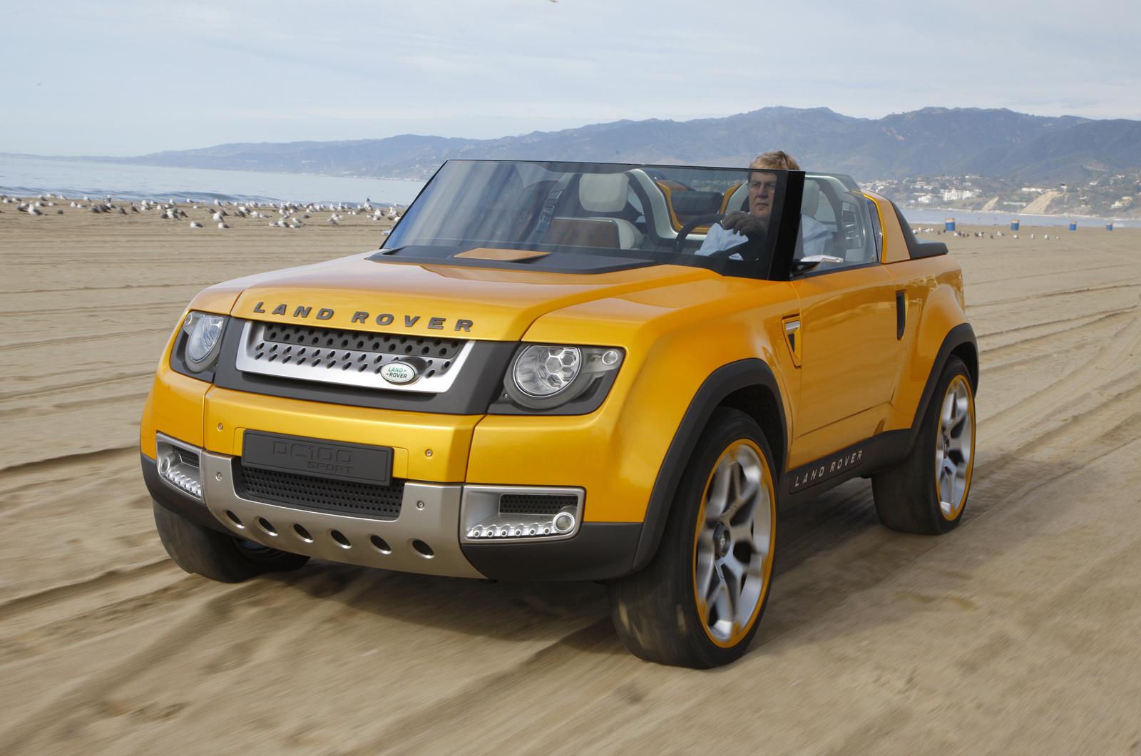 16 new land rovers revealed autocar. Black Bedroom Furniture Sets. Home Design Ideas