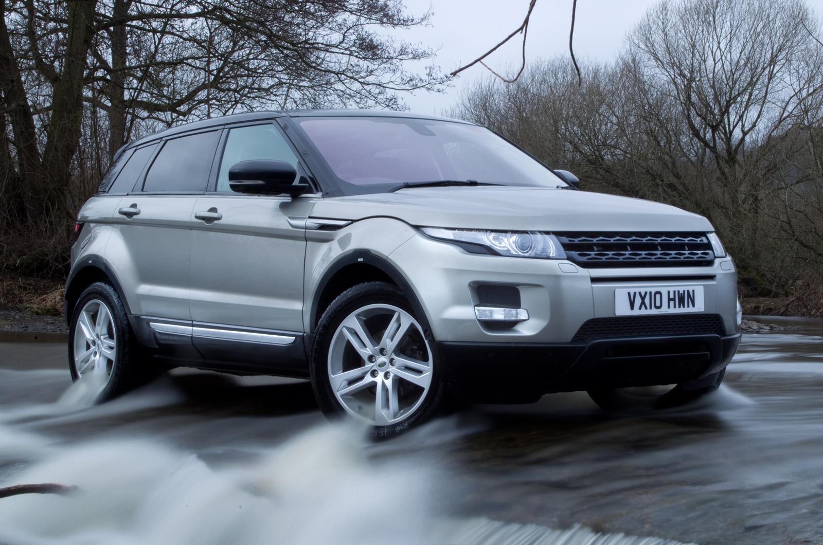 range rover evoque exclusive test autocar. Black Bedroom Furniture Sets. Home Design Ideas