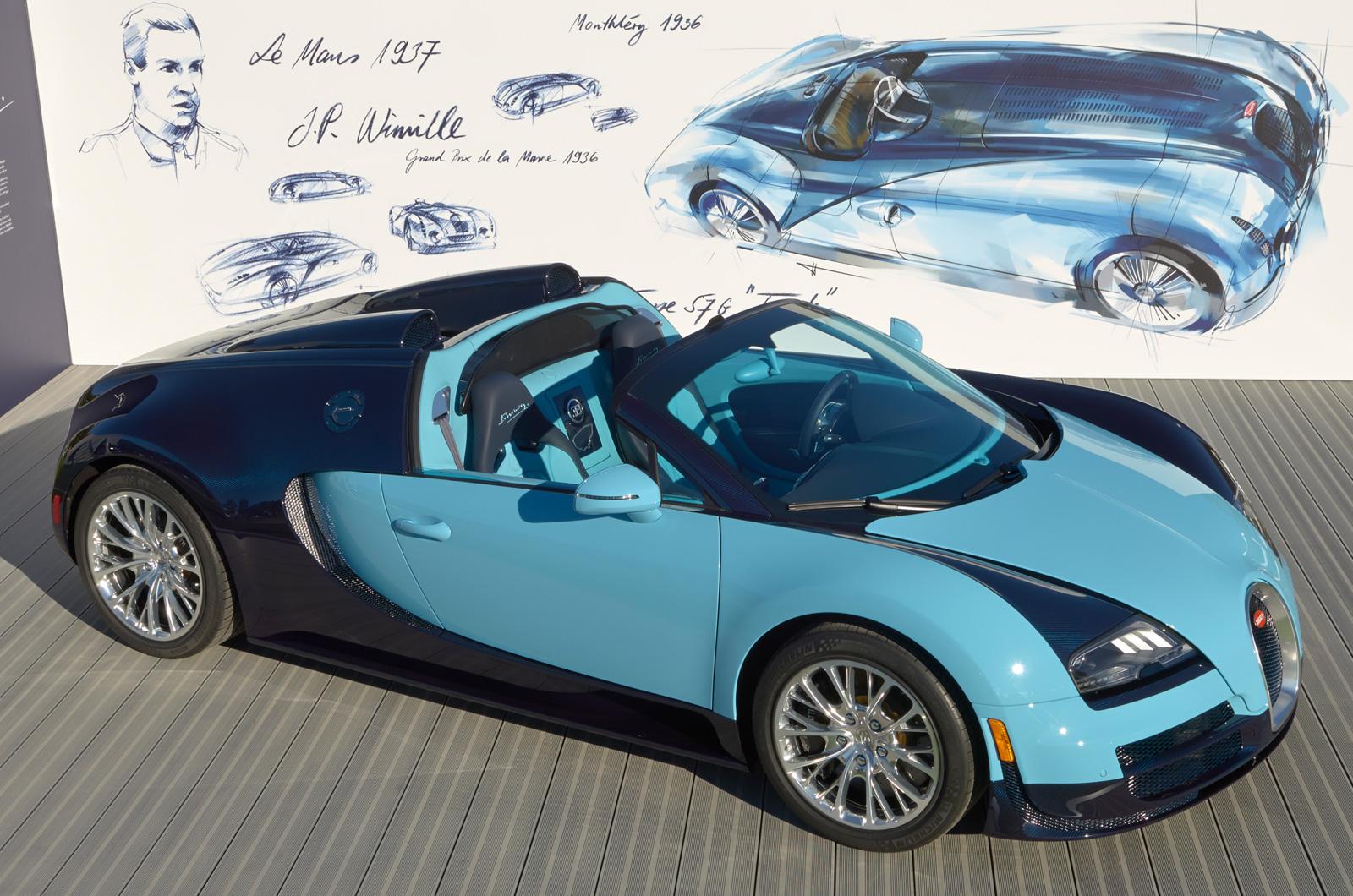 bugatti veyron 16 4 grand sport vitesse legend jean pierre wimille revealed. Black Bedroom Furniture Sets. Home Design Ideas
