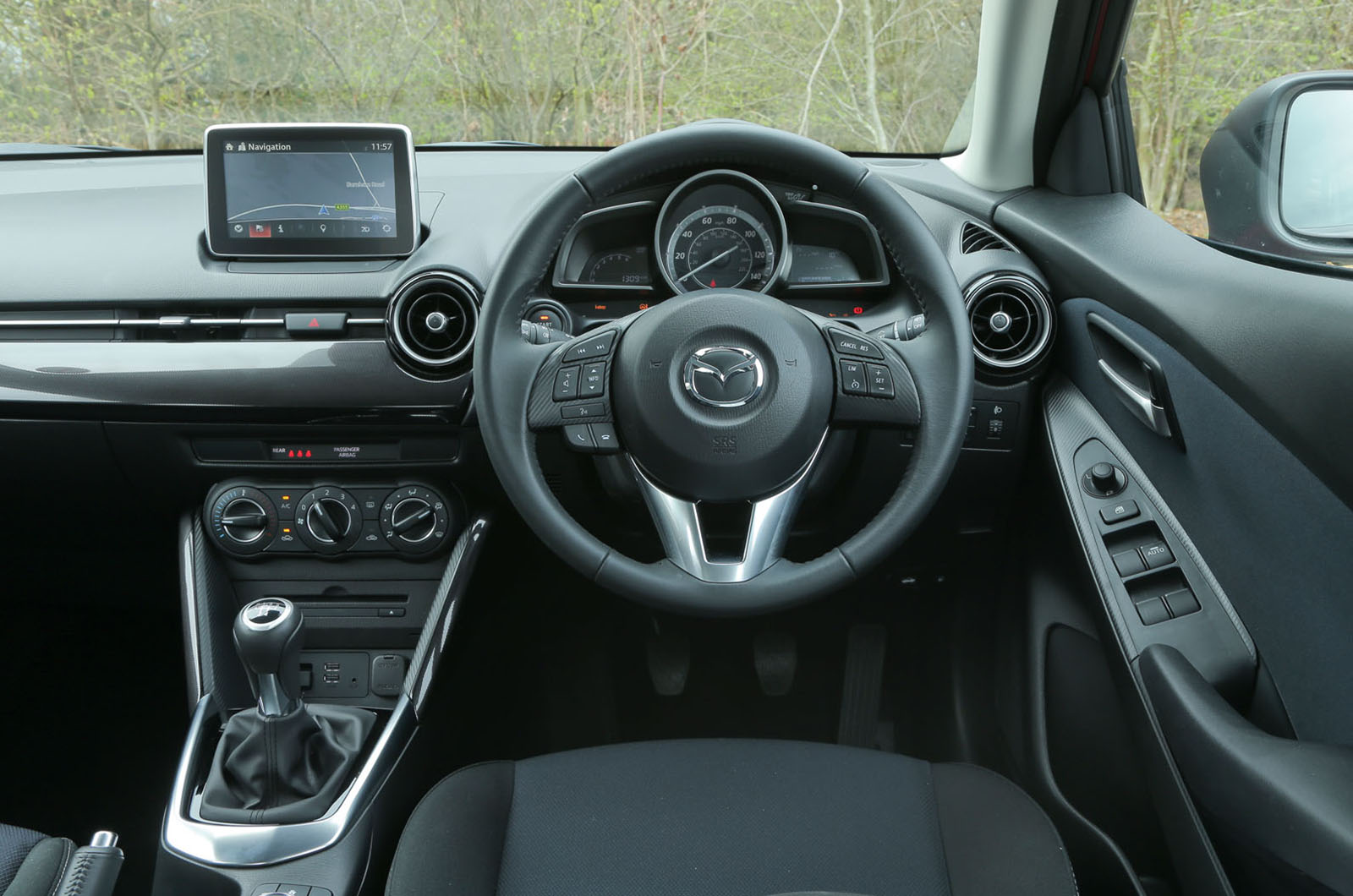 Mazda 2 interior  Autocar