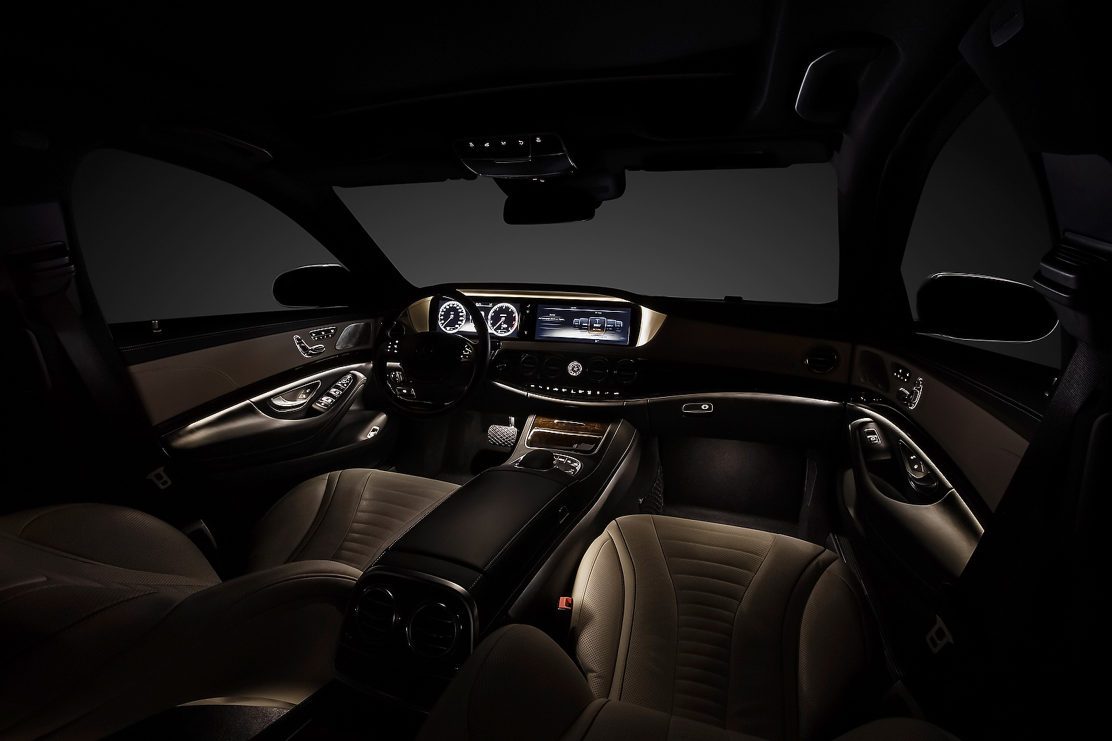 New Mercedes Benz S Class Interior Revealed Autocar