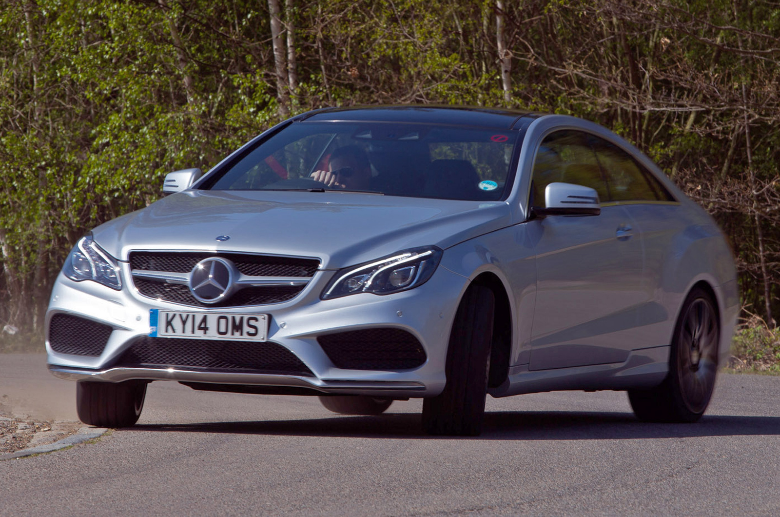 Mercedes benz e class e400 amg sport plus coupe first drive for Mercedes benz e400