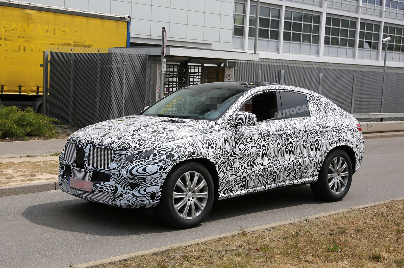 mercedes benz ml coupe to rival bmw x6 autocar