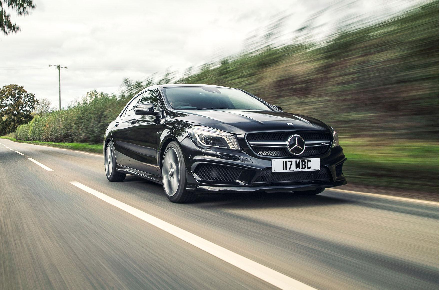 Kết quả hình ảnh cho Mercedes CLA 45