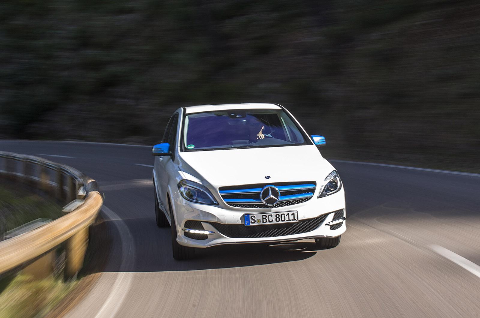 Mercedes benz b class electric drive first drive for Mercedes benz b class electric car