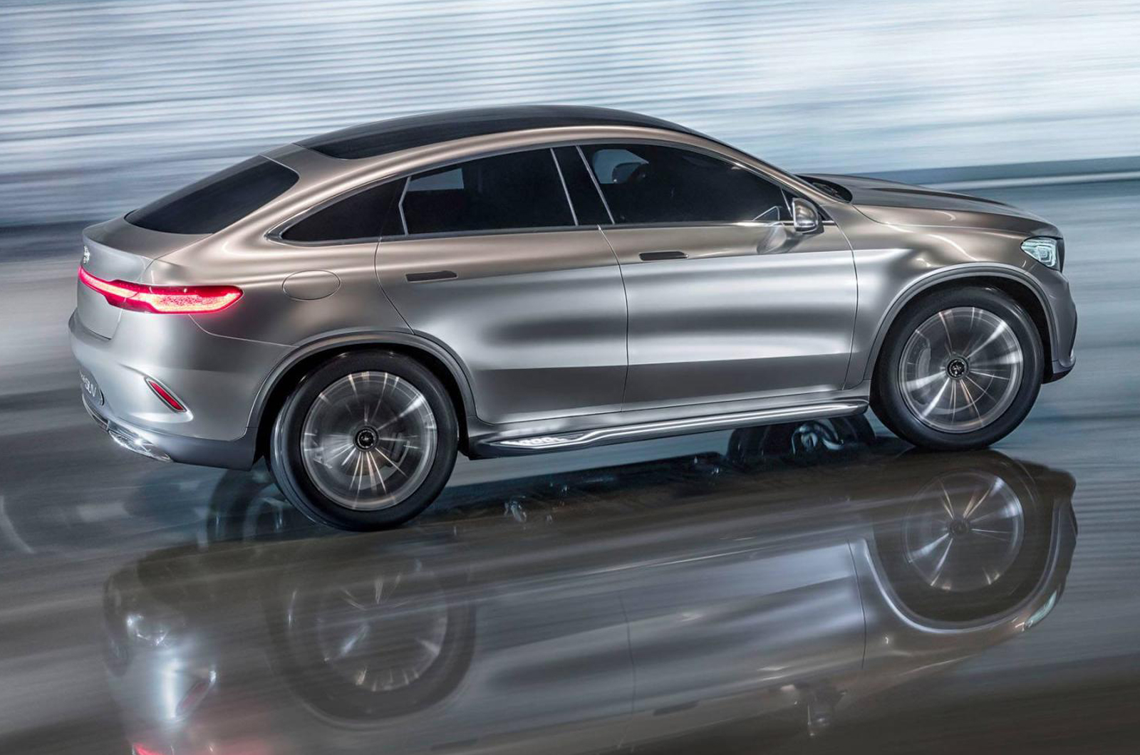 Mercedes Concept Coupe Suv Previews New Mlc Latest