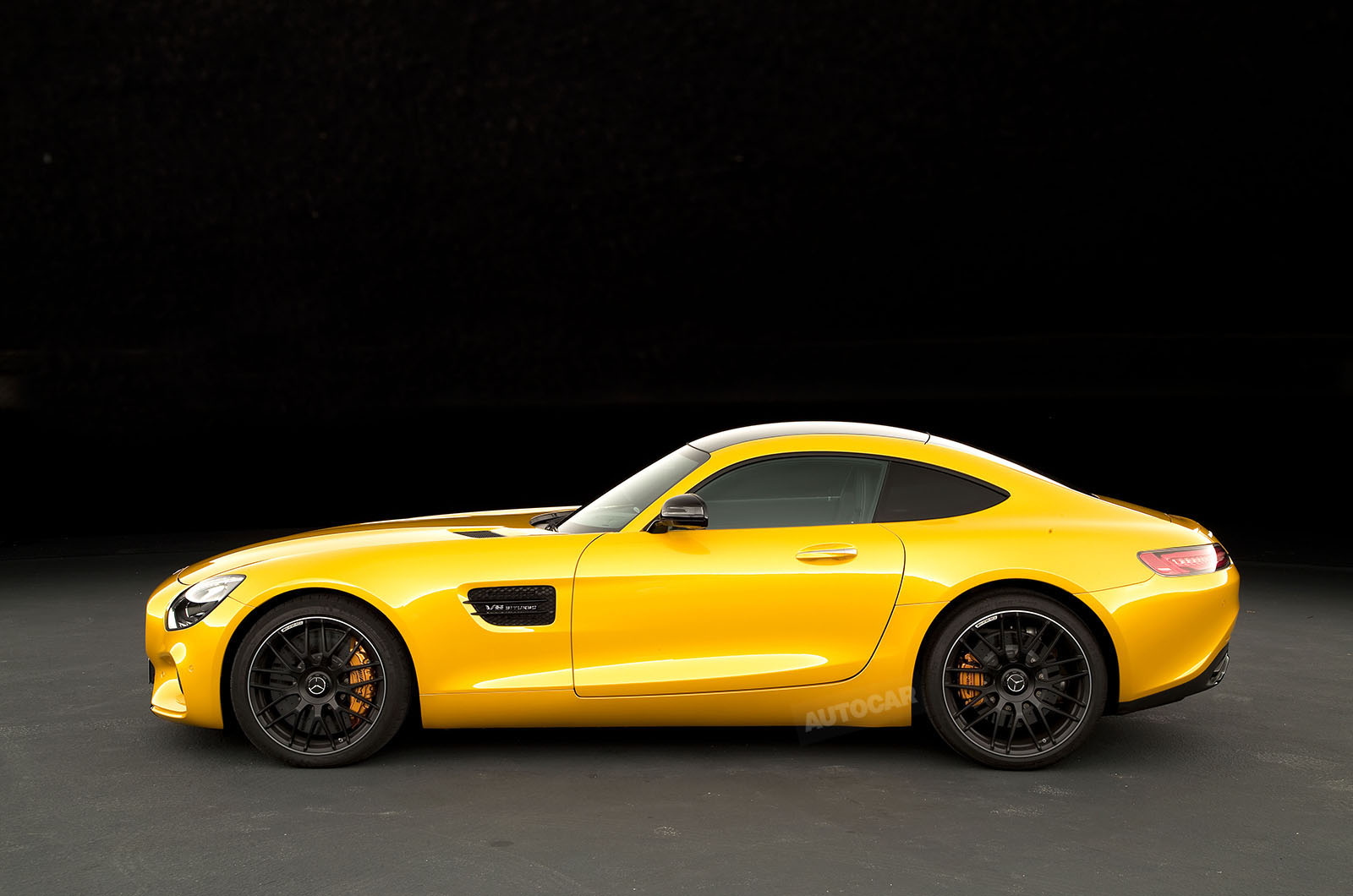 new mercedes amg gt revealed in paris autocar. Black Bedroom Furniture Sets. Home Design Ideas