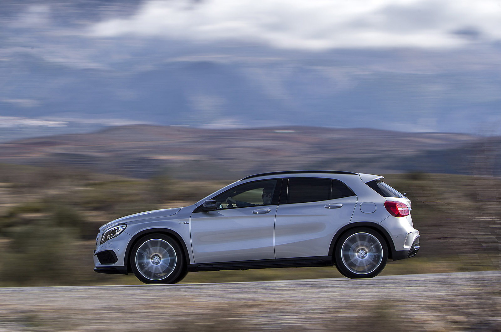 The GLA45 AMG rides well, smoothing out all but the worst bumps in the ...