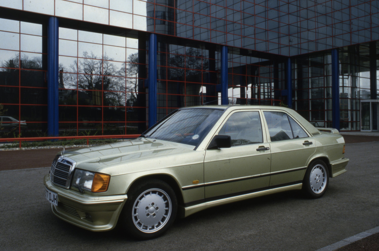 The history of mercedes benz amg picture special for Mercedes benz history name