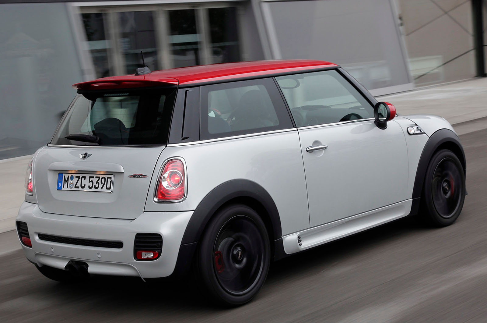 mini cooper s john cooper works first drive review autocar. Black Bedroom Furniture Sets. Home Design Ideas