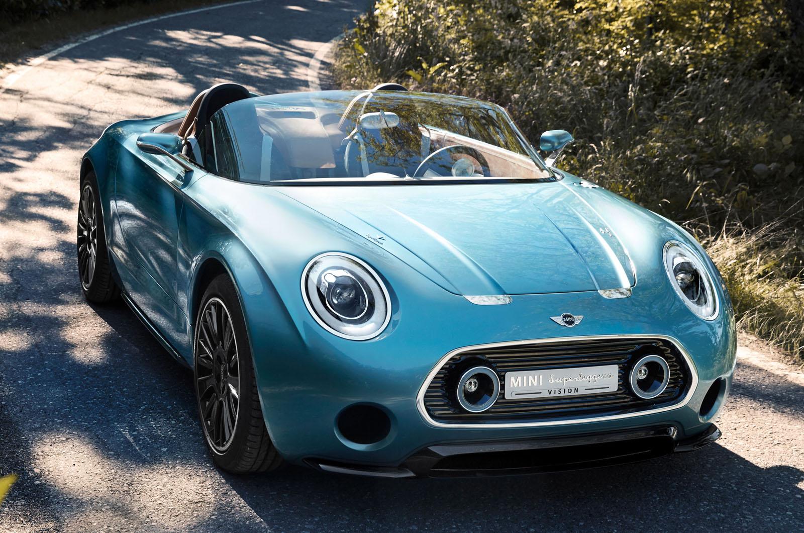 Mini Superleggera Vision Concept Unveiled Autocar
