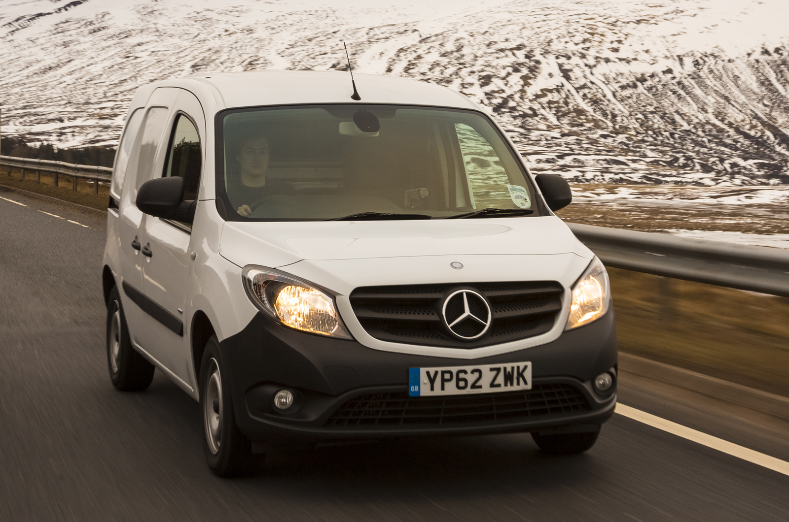 mercedes benz citan panel van first drive review autocar. Black Bedroom Furniture Sets. Home Design Ideas