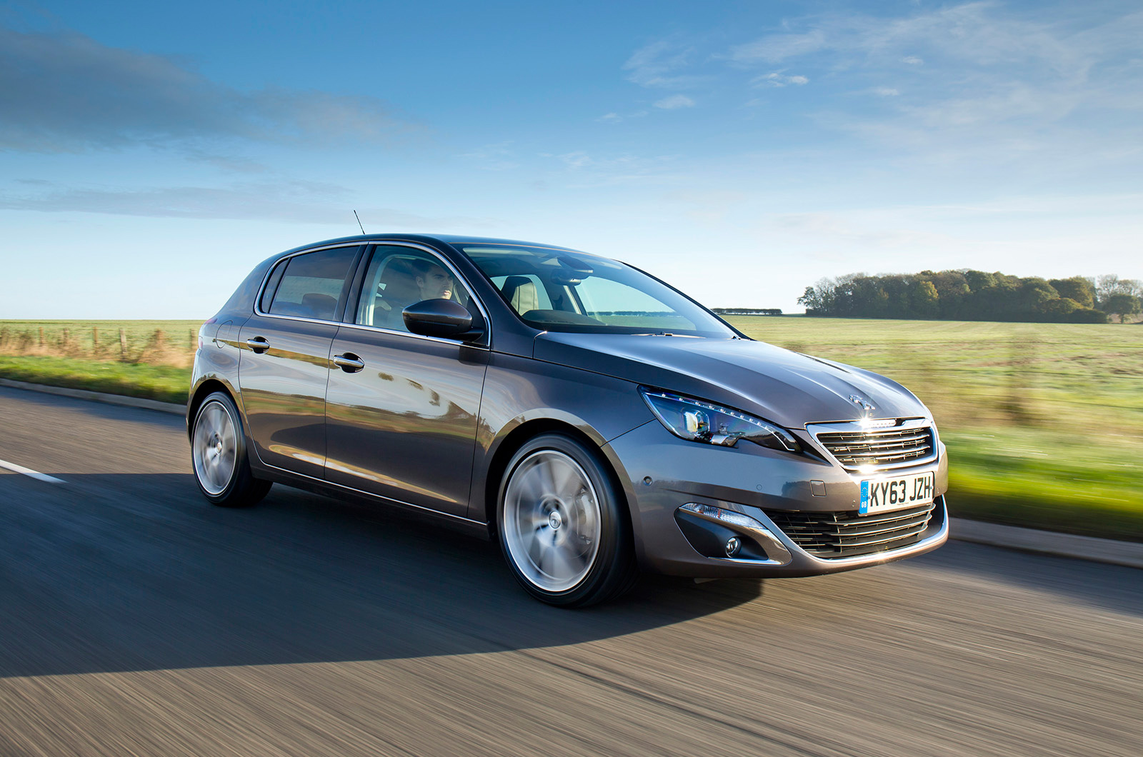 peugeot 308 feline 1.6 thp 156 first drive review | autocar