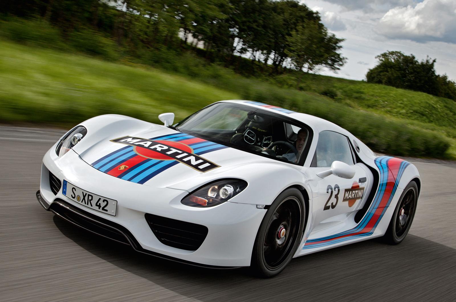 Porsche 918 Spyder Technical Details Uncovered Autocar