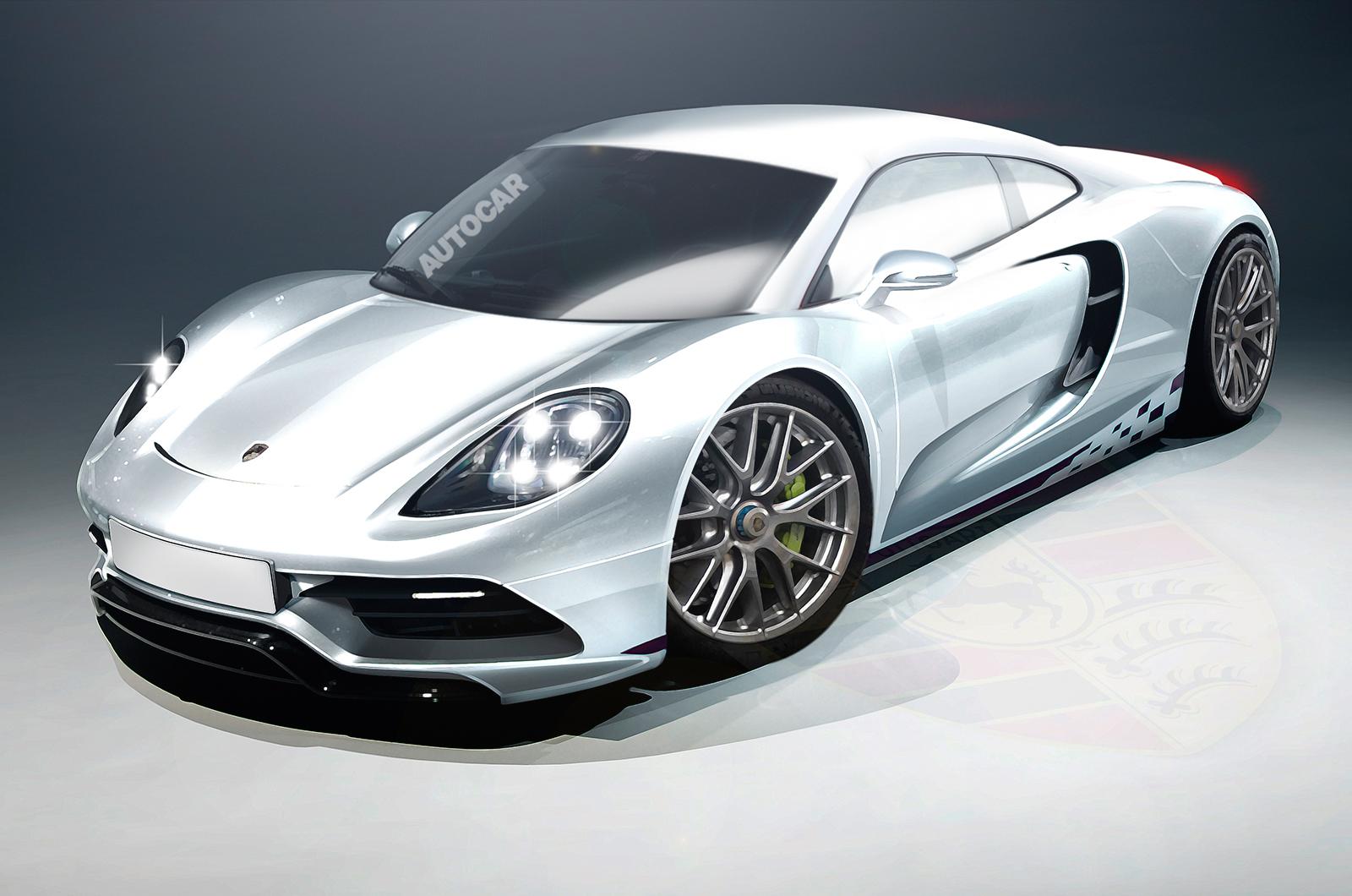 Дизайн Porsche 988 по версии Autocar