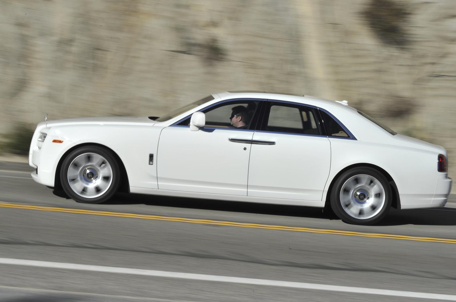 Rolls-Royce Ghost v Phantom | Autocar