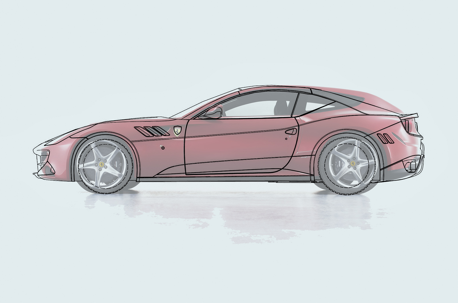 [Ferrari] Modèles uniques / One Off - MàJ : F12 TRS Side-ff
