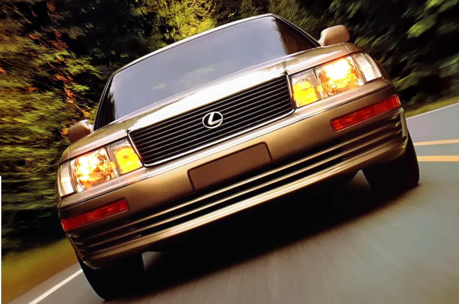 The luxury car class forever changed when Toyota launched its Lexus division in 1989.