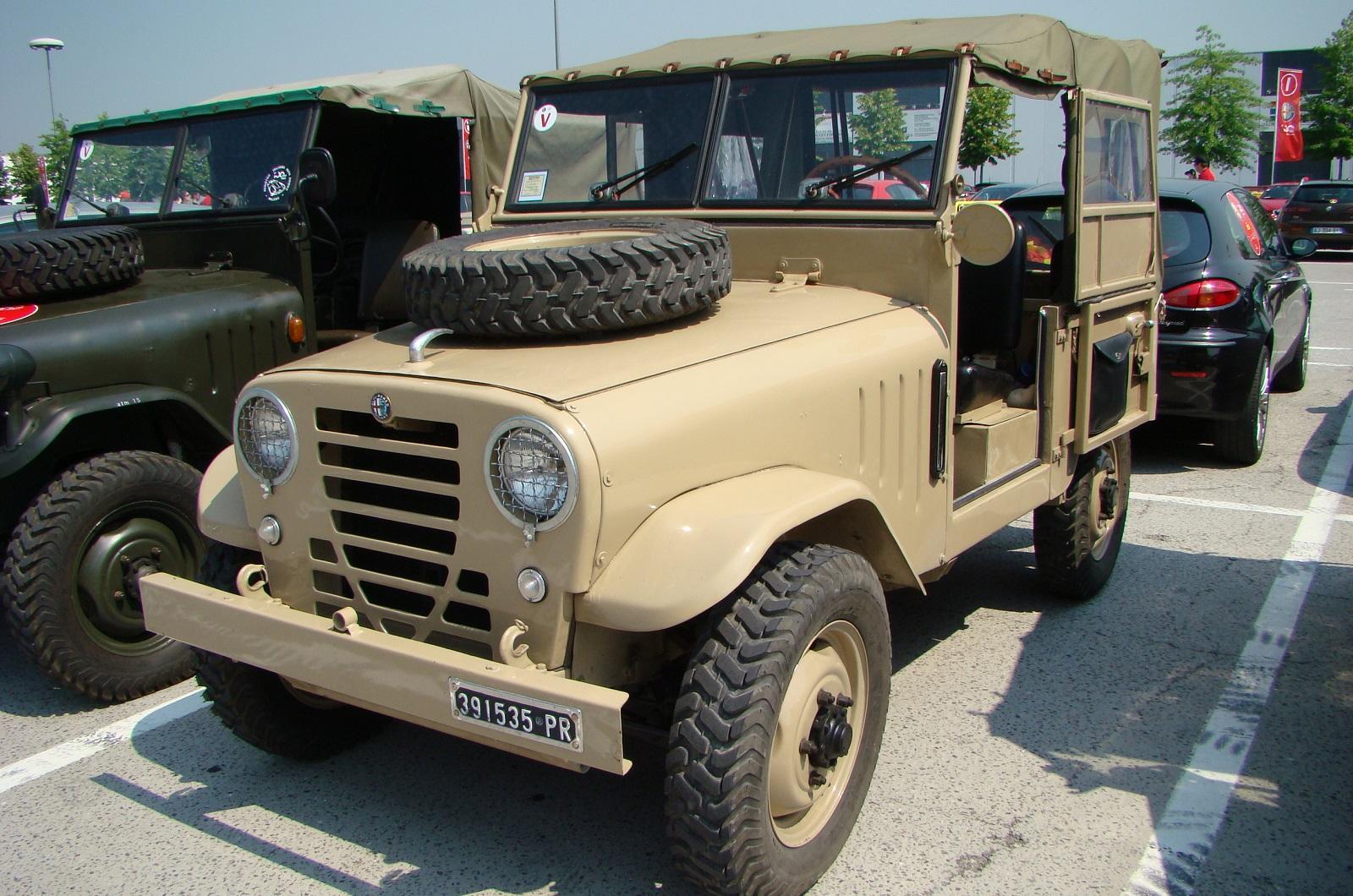 Long-forgotten vehicle