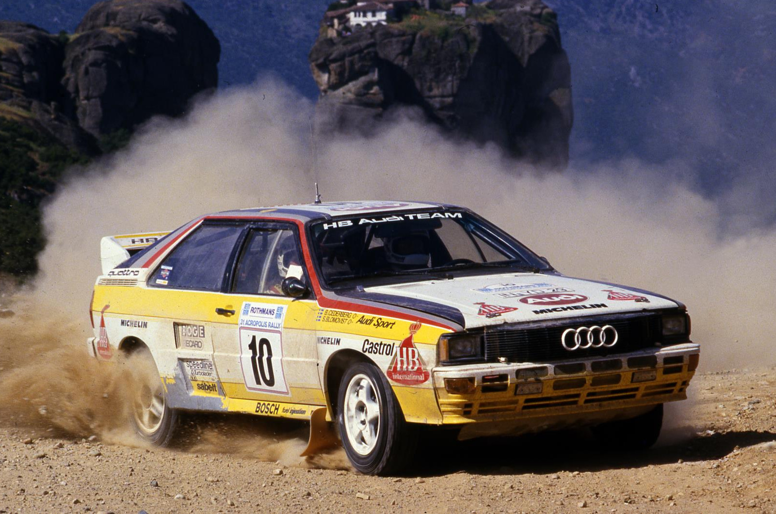 40 Years Of The Audi Quattro Autocar